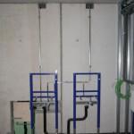 Abwasserinstallation